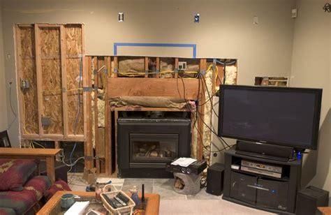 mounting  fireplace avs forum home theater