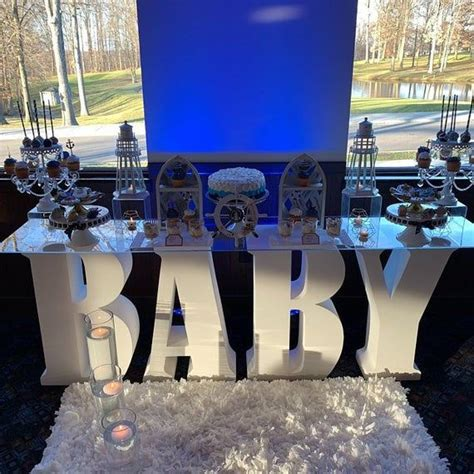 baby letters baby shower letters baby party centerpieces