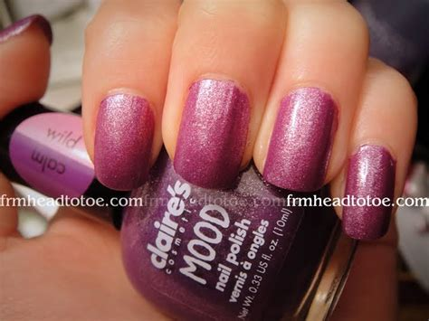 Claire's Mood-changing Nail Polish In