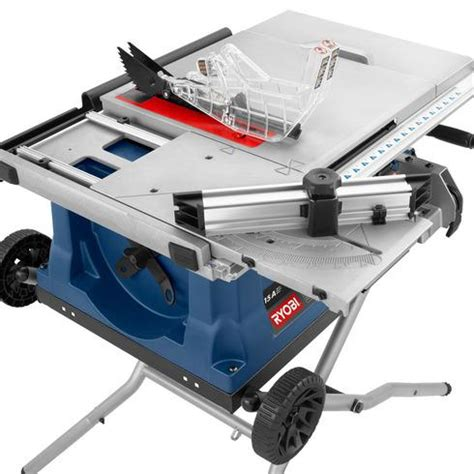 toolkraft 10 inch table saw ryobi 10 inch table saw with wheeled stand central ottawa