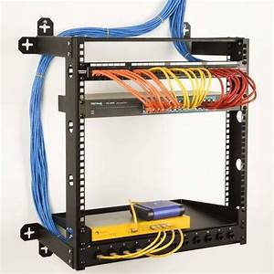 Wall Mount Network Rack Cable Management