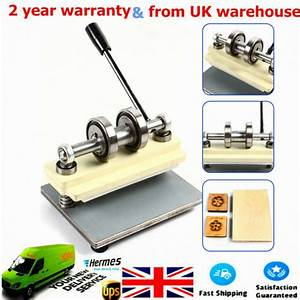 Pvc Manual Die Cutting Machine Leather Punch Press