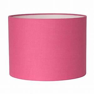 Abat Jour Rose : abat jour cylindre coton ~ Teatrodelosmanantiales.com Idées de Décoration