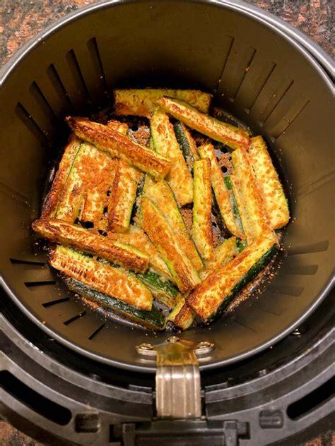 fryer zucchini air fries keto breading recipe parmesan recipes carb low bread melaniecooks crumbs
