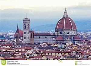 Florence Santa Maria Del Fiore, Panorama Stock Photo Image: 48312761