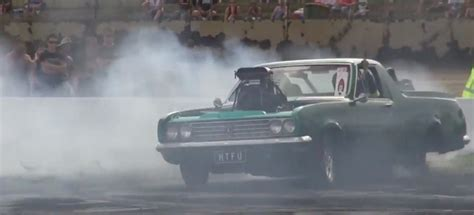 holden ht ute hand control burnout gm authority