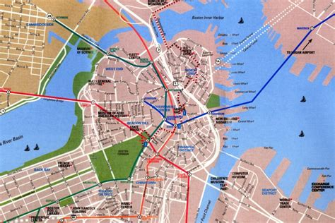 map  boston massachusetts images frompo