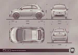 Fiat 500 Longueur : styling new 500 design layout the fiat forum ~ Medecine-chirurgie-esthetiques.com Avis de Voitures