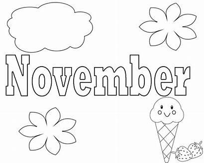 Listopad November Darmo Kolorowanek Druku Jesiennych Za