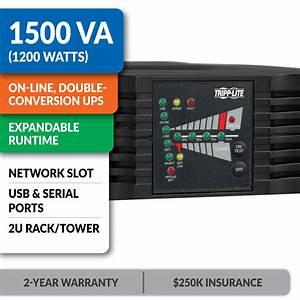 Amazon.com: Tripp Lite 1500VA Smart Online UPS, 1200W ...