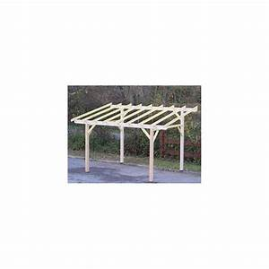 Pergola Bois En Kit Pas Cher : carport en bois pas cher maison design ~ Edinachiropracticcenter.com Idées de Décoration