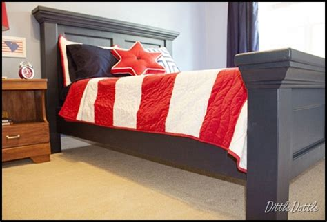 Diy Headboard Footboard by Remodelaholic Diy Pottery Barn Inspired Bed Headboard