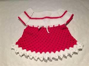 tuto robe bebe au crochet 2 youtube With robe au crochet facile