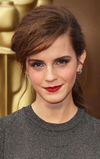 Which Scarlet Red Lipstick Emma Watson Wearing