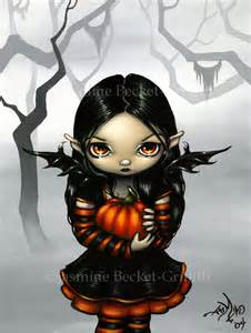 Pumpkin Pixie  Strangeling The Art of Jasmine BecketGriffith