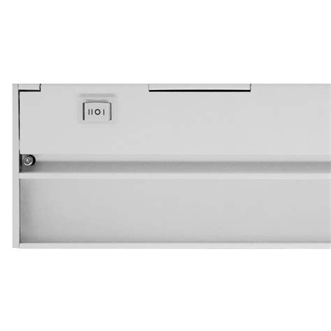 nicor slim 8 in led white dimmable cabinet light