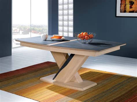 table ovale 224 pied central meubles turone