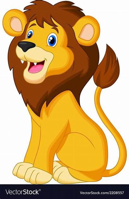 Lion Cartoon Lions Sitting Clipart Webcomicms Cool