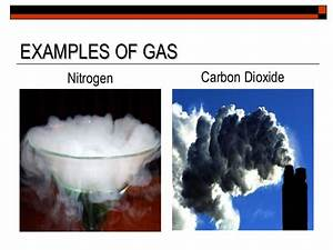 Gas  Gas Examples