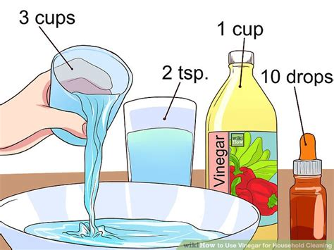 Cleaning With Vinegar And Water  New House Designs