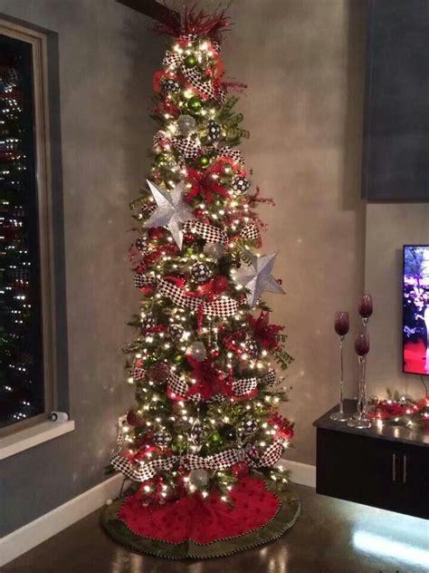 ways  decorate  slim christmas tree
