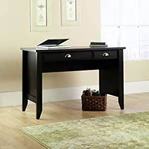 amazon com sauder shoal creek desk jamocha wood