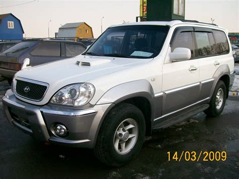 2002 Hyundai Terracan Photos Diesel Automatic For Sale