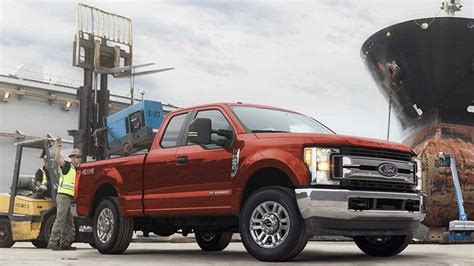 ford       super duty pickup trucks