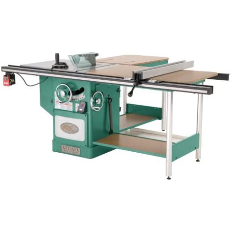 cabinet table saw used grizzly g0651 10 quot heavy duty cabinet table saw with riving