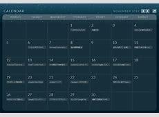 レスポンシブなカレンダー「Calendario」試す|Webディレクター・ハラヒロシのブログ