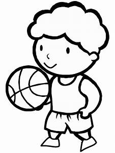 Basketball Coloring Pages Coloringpages1001com