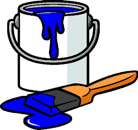paint can clipart painting clip picgifs