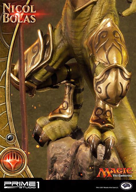 magic the gathering nicol bolas statue by prime 1 studio the toyark news