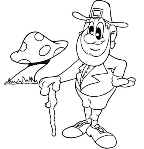 leprechaun coloring page leprechaun coloring pages best coloring pages for