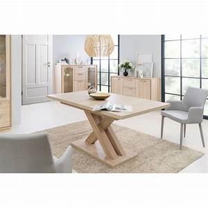 Salle A Manger Chene Clair : table de salle manger extensible contemporaine coloris ~ Melissatoandfro.com Idées de Décoration