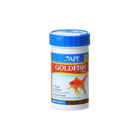 api goldfish pellets 235g fish food
