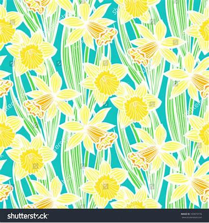 Texture Seamless Floral Fabric Vector Spring Summer