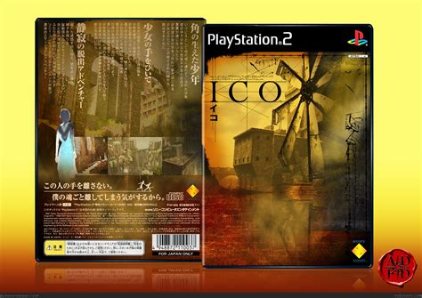 Ico Playstation 2 Box Art Cover By Alldreamsfalldown