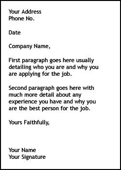 cover letter cover letter effective cover letter writing