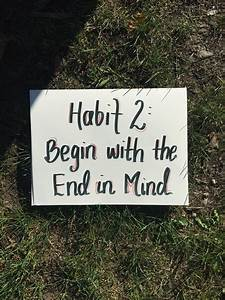 habits of kindness begin with the end in mind a floor