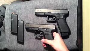 Glock 17 vs Glock 19 - YouTube