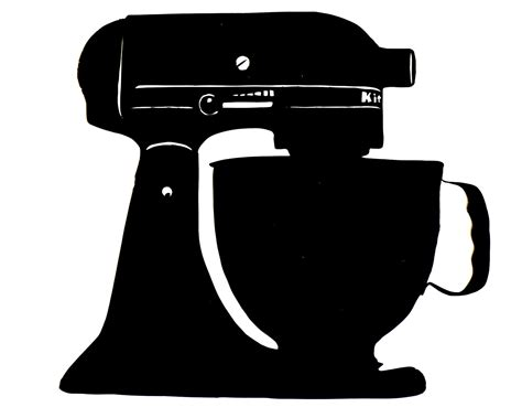 Kitchenaid Mixer Vector baking mixer clipart clipart suggest