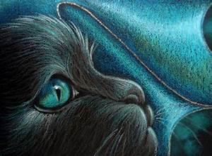 FANTASY BLACK DRAGON CAT 1 - by Cyra R. Cancel from Gallery