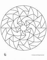 Mandala Coloring Geometric Mandalas Simple Fantasy Abstract Geometrie Ausmalbilder Jr Colouring Printable Sheets Patterns Shapes Colorear Frozen Popular Brain Visitar sketch template