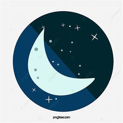 Moon Clipart Icon Luna Cartoon Icono Transparent