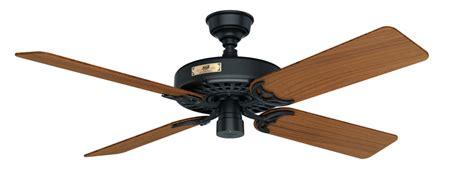 52 quot black ceiling fan outdoor original 23863 hunter fan