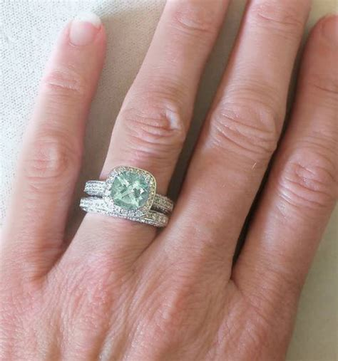 8mm Round Green Amethyst Diamond Halo Engagement Ring With. Alternative Engagement Wedding Rings. Vintage Silver Rings. Goddess Wedding Rings. Squareengagement Engagement Rings. Black Magic Wedding Rings. Alien Engagement Rings. Peridot Wedding Rings. Southern Rings