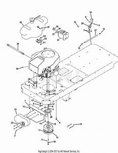Troy Bilt 17wf2acp011 Mustang Xp  2012  Parts Diagram For Engine Connection Mustang Xp