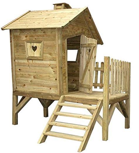Stelzenhaus Für Kinder  Spielhäuser Aus Holz Für Den Garten