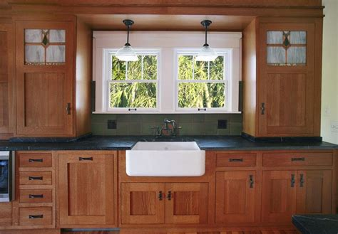 craftsman style kitchen cabinet doors mission style kitchen money pit kitchen project 8483